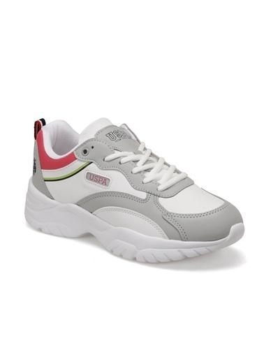 U.S. Polo Assn. Kadın Ayakkabı Tracey 100514482 Beyaz
